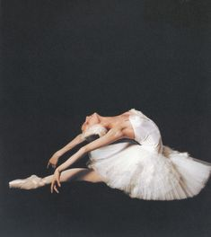 Svetlana Zakharova, principal dancer at the Bolshoi Ballet
