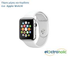 Διαγωνισμός του Electroholic με δώρο ένα Apple Watch! - http://www.saveandwin.gr/diagonismoi-sw/diagonismos-tou-electroholic-me-doro-ena-apple-watch/