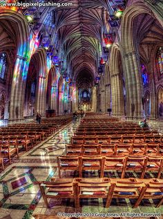 The National Cathedral... so beautiful!
