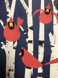 This week, first grade will be starting a Charley Harper inspired artwork! He was an American artist who simplified nature into bas...
