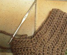 Techniques Crochet - (page - tetenlaine Blog Crochet, Crochet Patterns, Voici, Couture, Shoes, Fashion, Debutante, How To Knit Socks, Crochet Hat Patterns