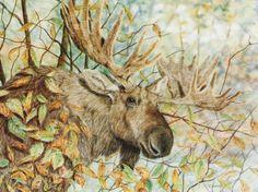 Yup, a Moose by ~SavageArt on deviantART