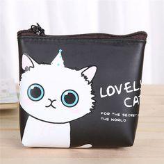 Coin purse Women Girls Cute Cat Fashion Coin Purse Wallet Bag Change Pouch Key Holder women bag coin wallet kids monederos