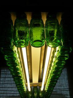 Como usar botellas de cristal para hacer lámparas | Blog I-MAS