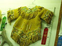 Athabascan beaded dress AK St. Fair Palmer