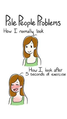bleh..true. Redhead exercise problems