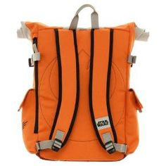 We are the Rebels of the backpack! This Rebel Pilot inspired backpack features a roll top to accommodate for added storage. Feel like Finn sporting the Orange that signifies the rebellion!