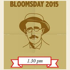 Book your ticket now for our Bloomsday Tour, Tuesday 16th June at 1.30pm. This tour takes a walk through the life, time and imagination of James Joyce.