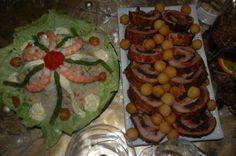 TORTA DE ARROZ Y CARNE RELLENA