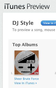 """DJ Style """"Sheer Brute Force"""" EP on Subwoofer Records Remixes: V!NH, MOZZY, ITZY FUZIAKY, DJIN DARANE, DRZNEDAY, KR!ST At #1 on iTunes DJ Style Top Albums chart! www.djstyle.com/blog_files/DJ_Style_Sheer_Brute_Force.html"""
