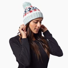 The Becks is loomed by the beneficiaries at Krochet Kids Peru. It's soft, stylish and is adorned with one of the softest poms around! This is the hat you wa ...