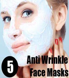 5 Natural Anti Wrinkle Face Masks
