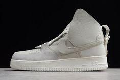 3efcdf5c4feb PSNY x Nike Air Force 1 High AF1 Matte Silver Light Bone-Sail-White  AO9292-001