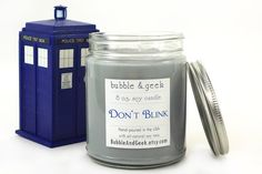 Hey, I found this really awesome Etsy listing at https://www.etsy.com/listing/188104537/dont-blink-scented-soy-candle-jar
