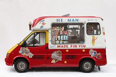 Camioncitos de helados, Luke Stephenson | Cherry Blog