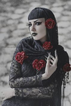 Model, MUA: Obsidian KerttuClaws: Myril JewelsBlouse: JawbreakerPhoto: Martina Špoljarić photography Welcome to Gothic and Amazing |www.gothicandamazing.org