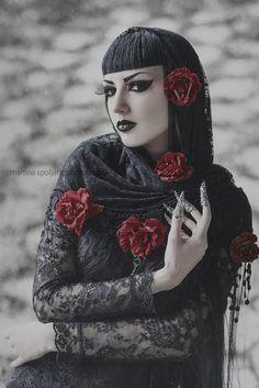 Model, MUA: Obsidian KerttuClaws: Myril JewelsBlouse: JawbreakerPhoto: Martina Špoljarić photography Welcome to Gothic and Amazing  www.gothicandamazing.org