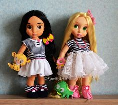 Disney animator's collection dolls Rapunzel&Jasmine