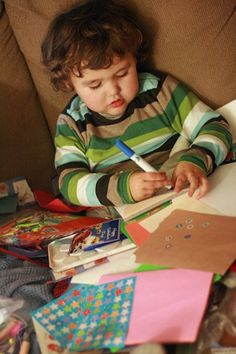 """Reading, writing, social studies, science, and more - ideas for """"unschooling"""" preschoolers."""