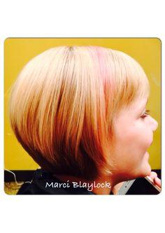 Little girl short hair. #blonde #shorthair #nashvilletn
