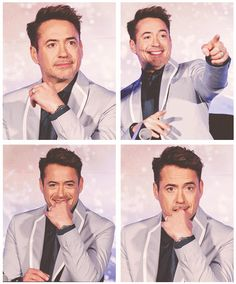 "Robert Downey Jr. during ""Iron Man 3"" photocall in Seoul"