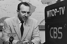 "Walter Cronkite, anchorman for The CBS Evening News for 19 years (1962–81). He was often cited in viewer opinion polls as ""the most trusted man in America,""                                           http://www.ufoevidence.org/cases/case1178.htm"