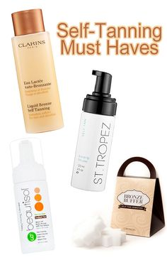 Get a head start on that summer self-tan with these self-tanning must haves.