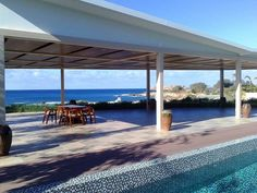 Cap St. George Club House covered out door dining area, Paphos - Cyprus
