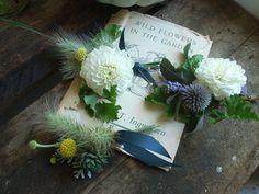 The Blue Carrots natural seasonal wedding flowers