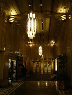 Art Deco Interior of Chanin Building