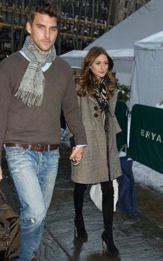 Olivia Palermo: Chic layers.
