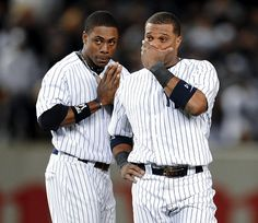 Robinson Cano, Alex Rodriguez, Curtis Granderson, And Ryan Braun suspended for PEDs? Go Yankees, New York Yankees Baseball, Munster Rugby, Ron Guidry, Curtis Granderson, Mickey Mantle, Love And Respect, My Boys, Sports