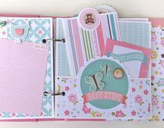 Artsy Albums Scrapbooking Kits and Custom Designed Scrapbook Albums by Traci Penrod: Echo Park's Bundle of Joy...so Sweet