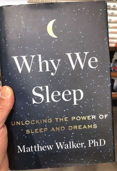 Why we sleep Best Books To Read, Books To Buy, I Love Books, Good Books, Book Nerd, Book Club Books, Book Lists, Book Suggestions, Book Recommendations