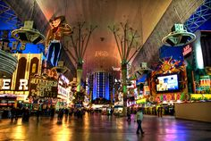 Freemont Street, Las Vegas so much fun, cheap food and drinks