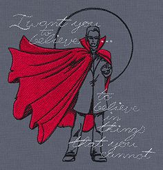 Haunted Tales - Dracula design (UT6937) from UrbanThreads.com