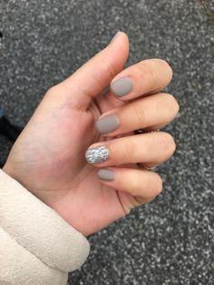 Unghie grigie nails grey