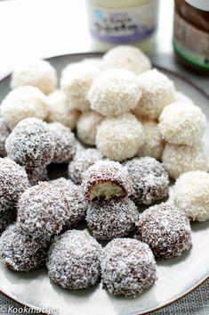 Chocolate Coconut Cookies, Gluten Free Chocolate, Gluten Free Donuts, Gluten Free Pumpkin, How To Make Cookies, Food To Make, Eid Sweets, Morrocan Food, Cookie Recipes