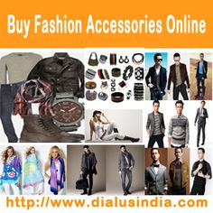 Buy fashion accessories online http://www.dialusindia.com