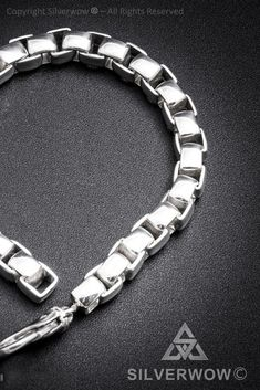 """30/"""" 100-5MM Flat Pave Curb Chain .925 Solid Sterling Silver Available in 8/"""""""