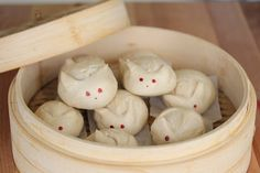 Steamed Rabbit Bao by Kirbie: Happy Chinese New Year!