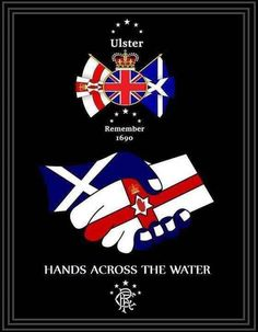 Ulster & Scotland Northern Ireland Fc, Northern Ireland Troubles, Northern Irish, Rangers Football, Rangers Fc, Remembrance Day Art, Orange Order, Red Right Hand, Londonderry