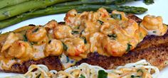 This Ole Mom: Pan-Fried Speckled Trout with Creamy Crawfish Sauce