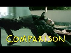The Matrix - Bullet Time - Homemade with Olga Kay & Jeremy Jahns (comparison)