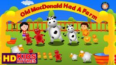 Old MacDonald Had A Farm | Cartoon Kids Songs | Rhymes | Children's Vide...