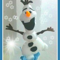 Olaf em feltro by julydoya