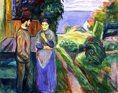 Summer Evening  Edvard Munch - 1925-1927