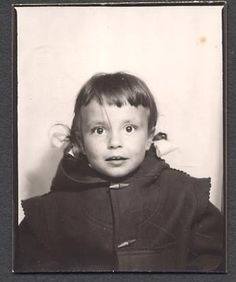 ** Vintage Photo Booth Picture **   Surprise!