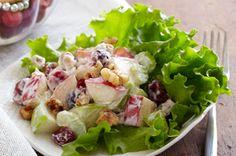 Apple-cranberry salad. This salad is FANTASTIC!