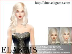 Elasims: ELA_Asked_Hair39F / 39G